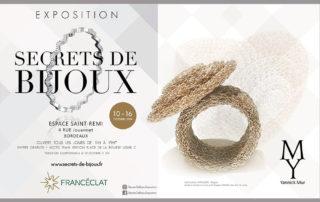 Exposition Secrets de Bijoux - Bordeaux - Octobre 2019